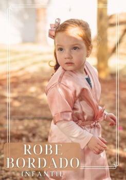 Robe Infantil Personalizado - AG18